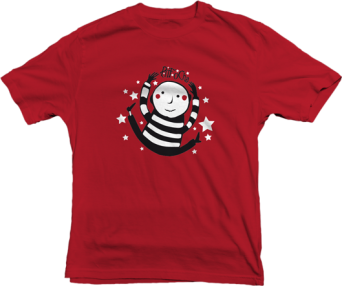 T-shirt - Pitt Ocha Rouge - Enfant